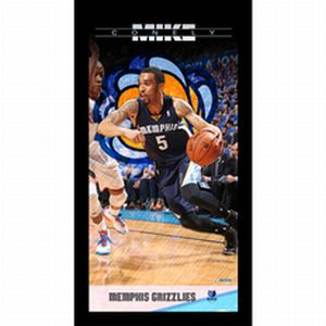 Memphis Grizzlies Mike Conely  Player Profile Wall Art 9.5x19 Framed Photo