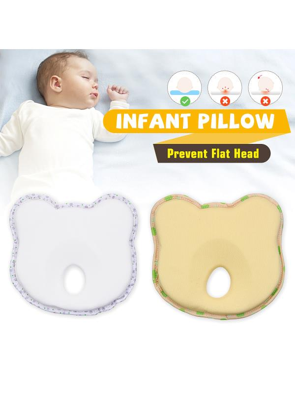 Newborn Baby Pillow Infant Prevent Flat Head Support Pillow by