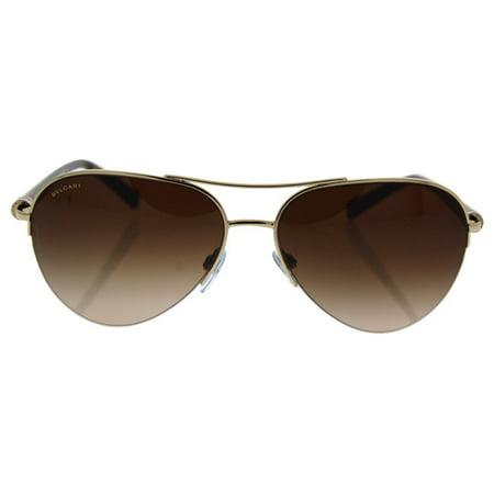Bvlgari BV6084 278/13 - Women's Pale Gold/Brown Gradient Sunglasses
