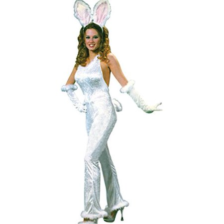 Morris Costumes Bunny Sexy Velvet Adult Sm Md](Easter Bunny Costume For Sale)