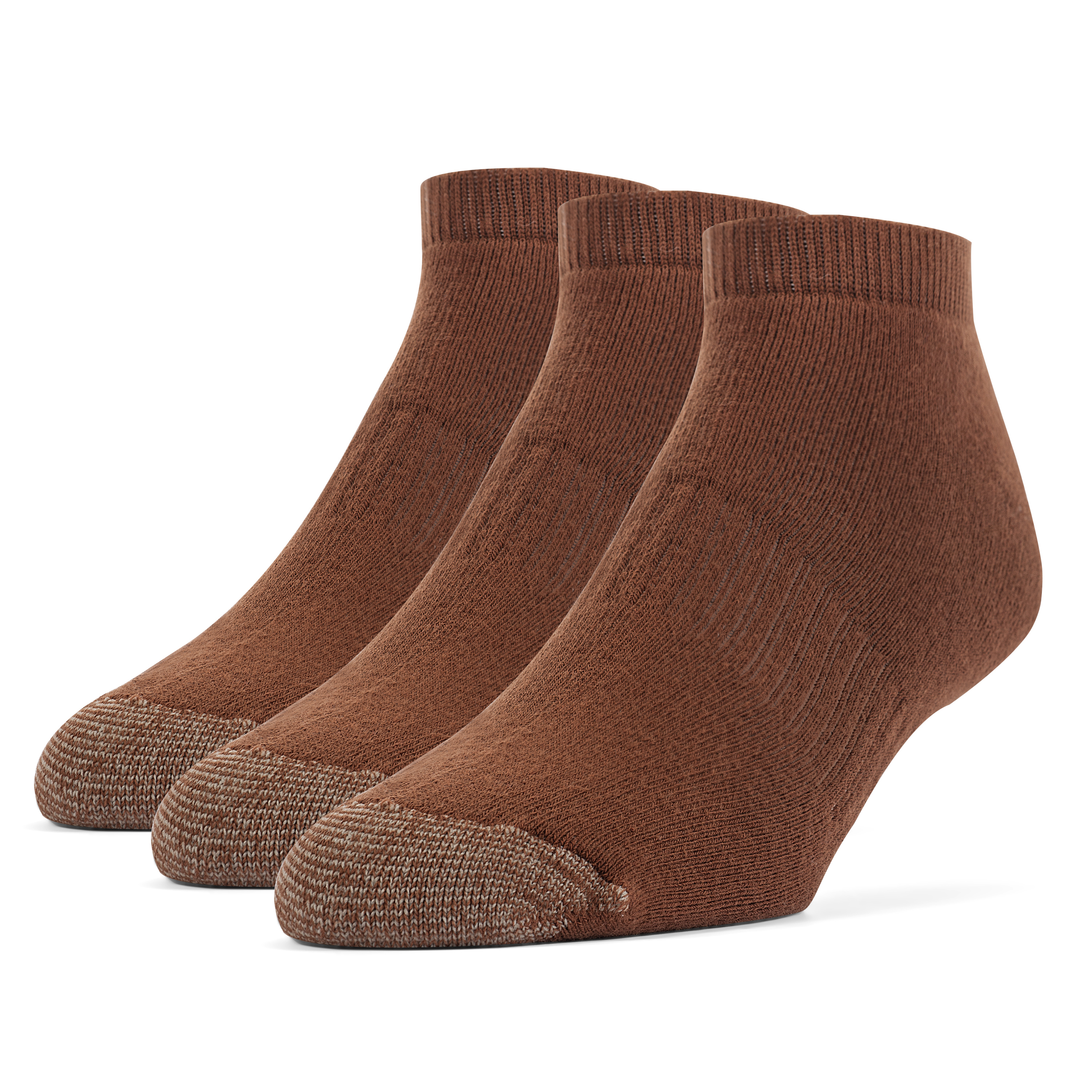 Men's Cotton ExtraSoft Low Cut Cushion Socks - 3 Pairs