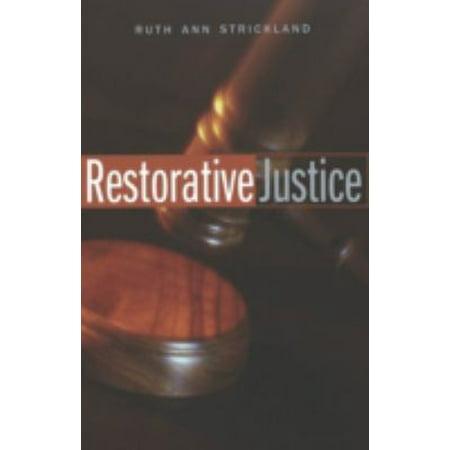 Restorative Justice  Studies In Crime And Punishment   Paperback