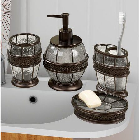 Fleur De Lis Living Hildegarde 4 Piece Bathroom Accessory Set