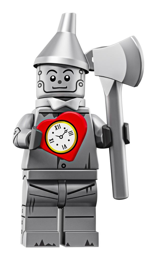 NEW SEALED THE LEGO MOVIE 2 MINIFIGURE SERIES TIN MAN THE WIZARD OF OZ