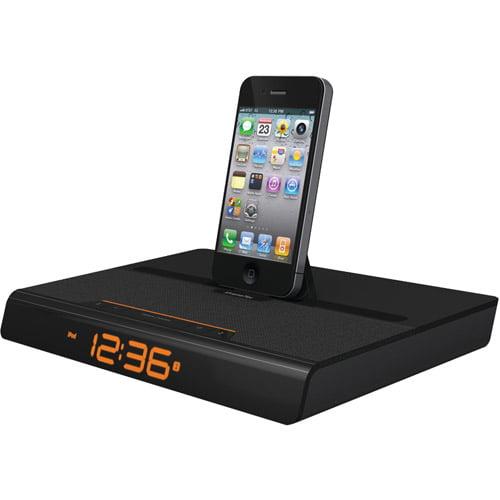 XtremeMac Luna Voyager II Dual Alarm FM Clock Radio iPhone/iPad Dock (Refurbished)
