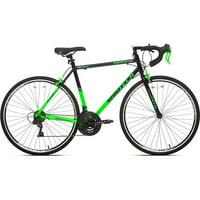 700c Mens Kent RoadTech Road Bike (Green/Black)