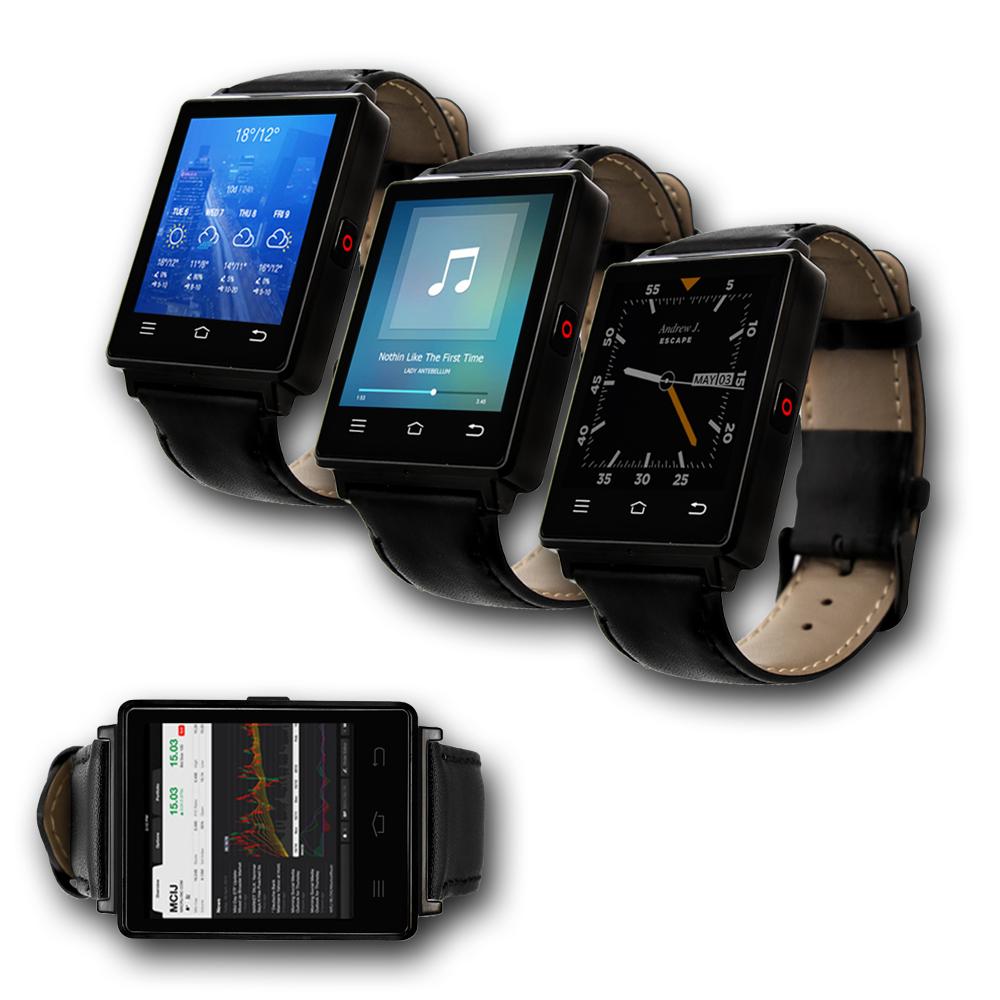 Indigi® NEW 2017 3G GSM Unlocked SmartWatch & Phone + WiFi + GPS + Bluetooth 4.0 + Heart Rate