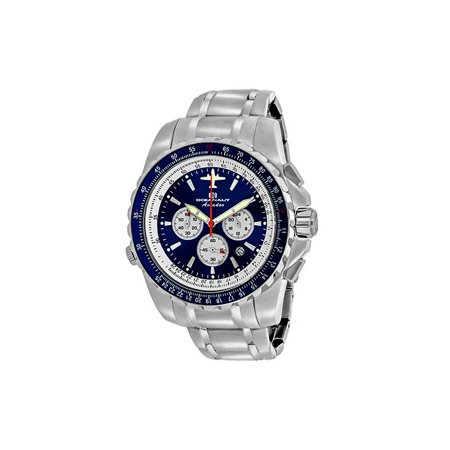 Oceanaut Men's Aviador Pilot Watch Quartz Mineral Crystal OC0113 Fighter Pilot Watch