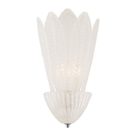Eurofase Lighting Crystal Sconce - Eurofase Pratolina 12.25-In W 1-Light Pocket Wall Sconce 25715-019
