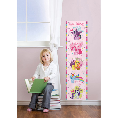 My Little Pony Growth Chart Decal