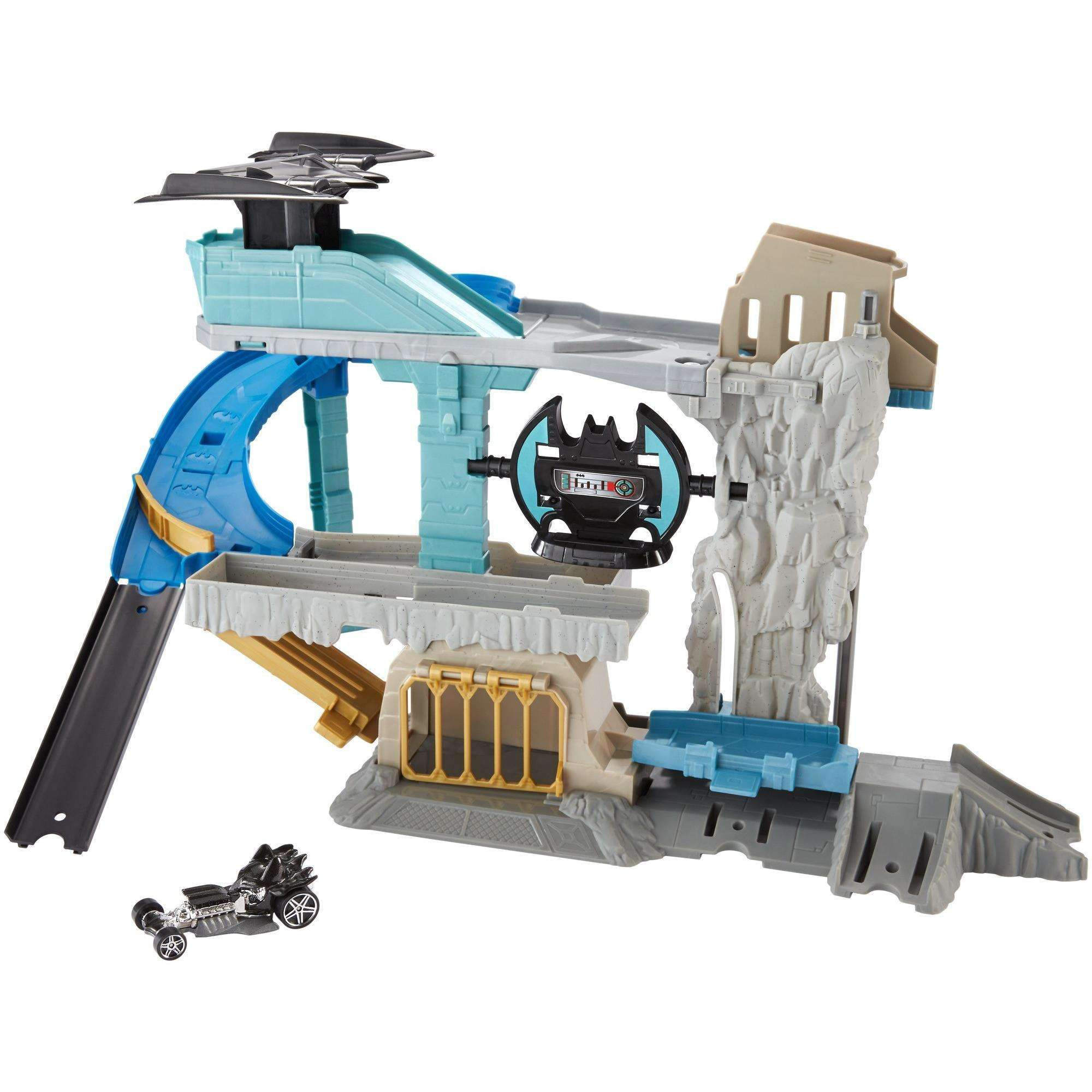 Hot Wheels DC Batcave Play Set by Mattel