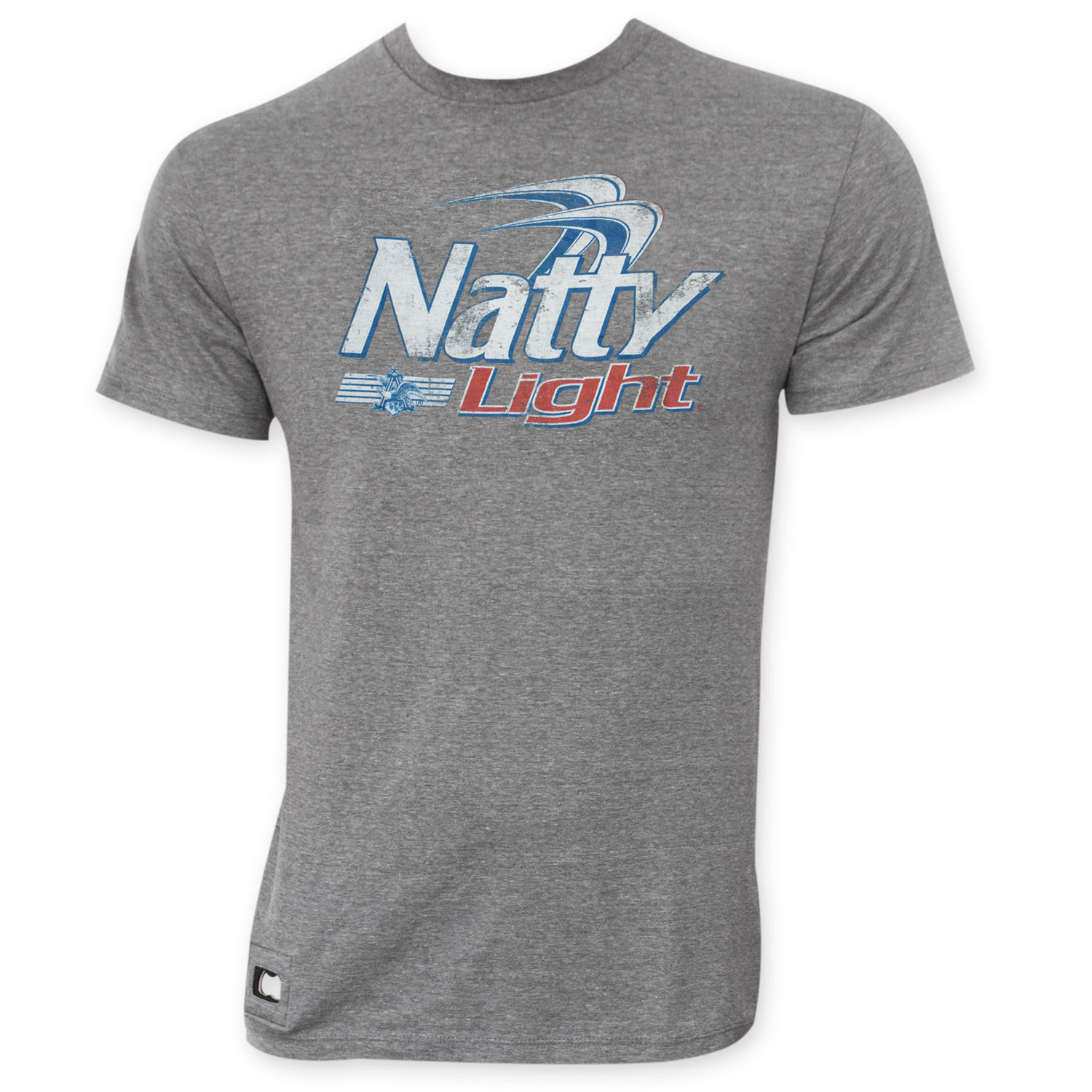 Natty Light Faded Logo Pop Top T-Shirt