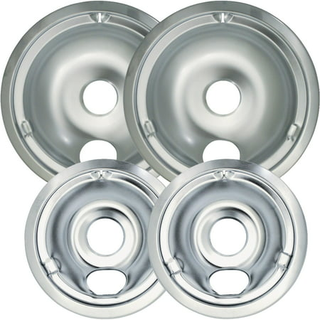 Universal Chrome Reflector Drip Pan