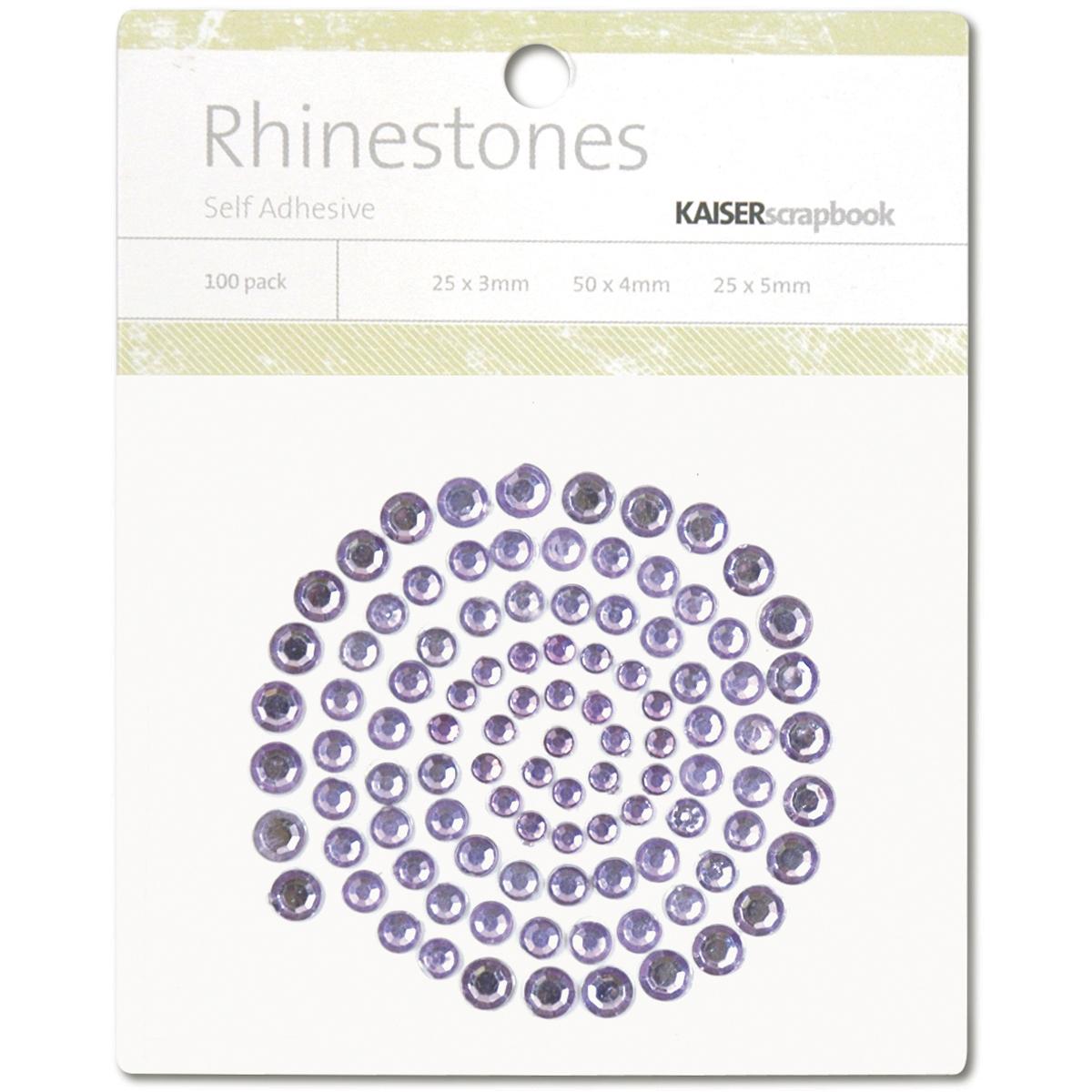 Self-Adhesive Rhinestones 100/Pkg-Lilac - image 1 of 1
