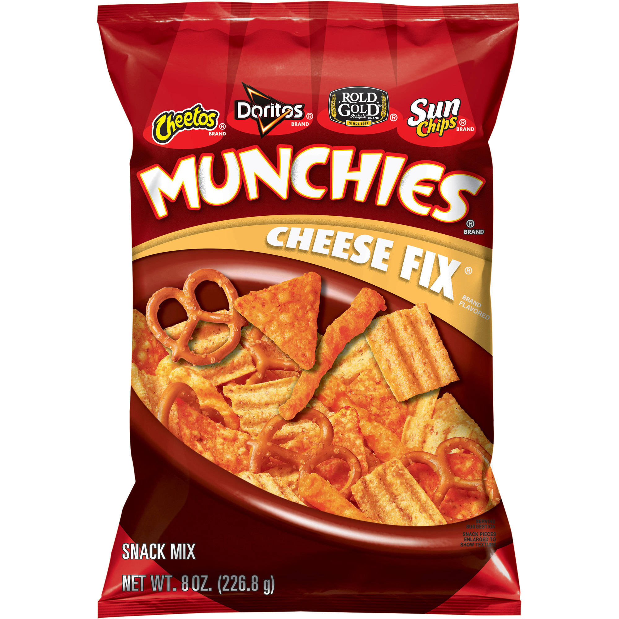 Munchies Cheese Fix Snack Mix, 8 oz.