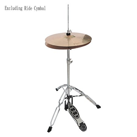 Ktaxon Drum HI-HAT Cymbal Stand Double Braced Chrome High Hat