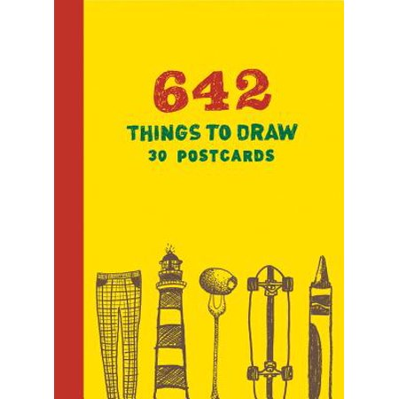 642 Things to Draw: 30 Postcards](Halloween Things To Draw)