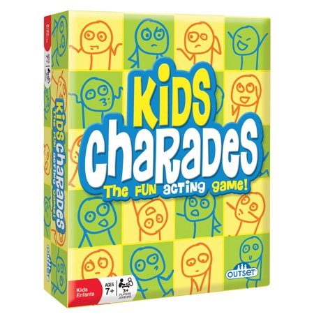 Outset Media Kids Charades - The Fun Acting Game