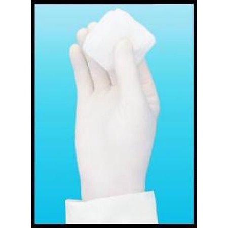 Flexam Exam Glove Sterile  Powder Free Nitrile Ambidextrous Textured Fingertips Blue Chemo Tested, Large