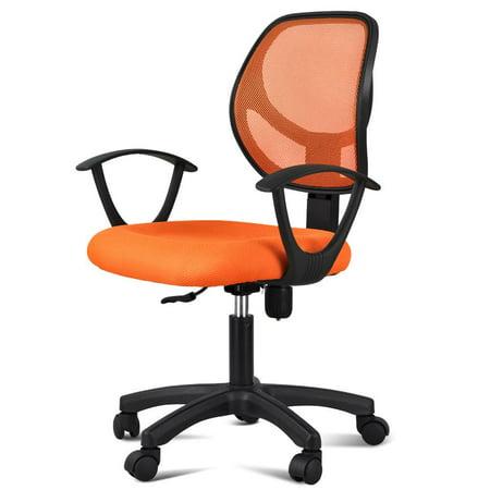 Yaheetech Adjustable Swivel Computer Desk Chair Fabric