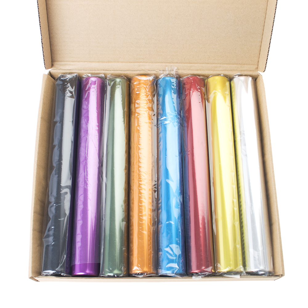 GOGO Wholesale Track /& Field Races Relay Batons Assorted Color 8 Pcs//Box