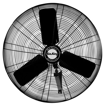 Air King AK-9025 24 Inch Blade Indoor Industrial Oscillating Wall Mount Fan