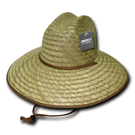 Mat Straw Lifeguard Hat, Style 528](Straw Mats For Sale)