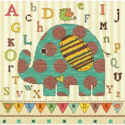 Dimensions Counted Cross-Stitch Kit, Baby Elephant ABC