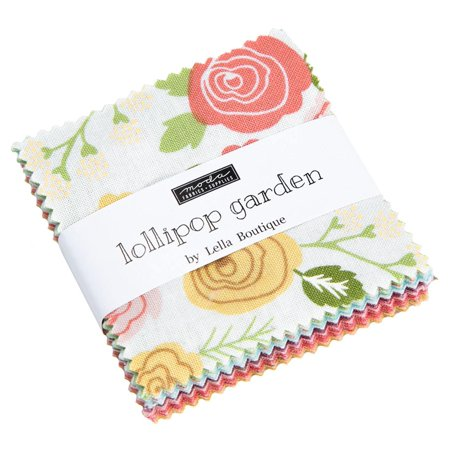 Lollipop Garden Moda Mini Charm Pack by Lella Boutique; 42 - 2.5
