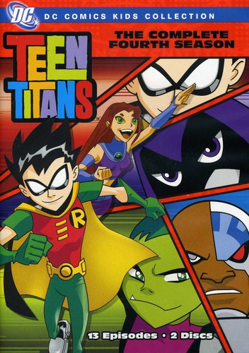 Teen Titans: The Complete Fourth Season by WARNER HOME ENTERTAINMENT