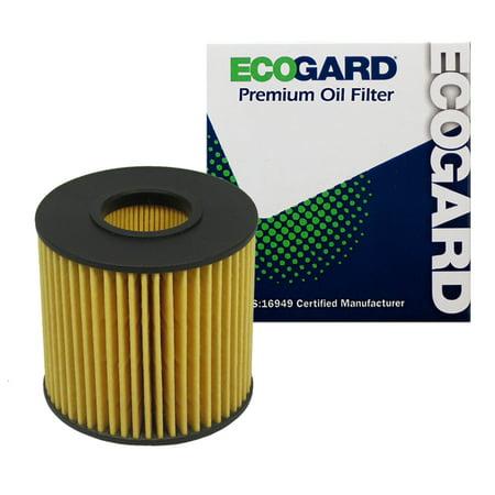 ECOGARD X5608 Cartridge Engine Oil Filter for Conventional Oil - Premium Replacement Fits Toyota Camry, RAV4, Sienna, Highlander, Avalon, Venza, Tacoma / Lexus RX350, ES350, RX450h, ES300h,