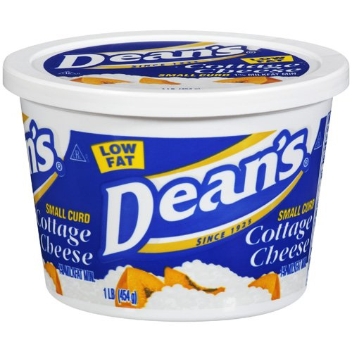 Dean's Small Curd Low Fat Cottage Cheese 1% Milkfat Min., 16 oz