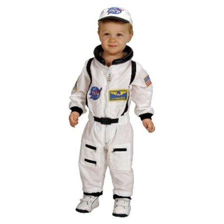Big Mouth Halloween Costume (NASA Jr. Astronaut Suit Toddler Halloween Costume, Size 12-18)
