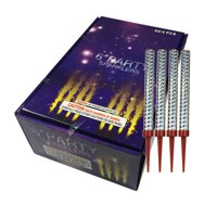 12pc Pack Big Birthday Cake Sparklers burns approx. 45 seconds 3 Packs of 4 Sparklers Each