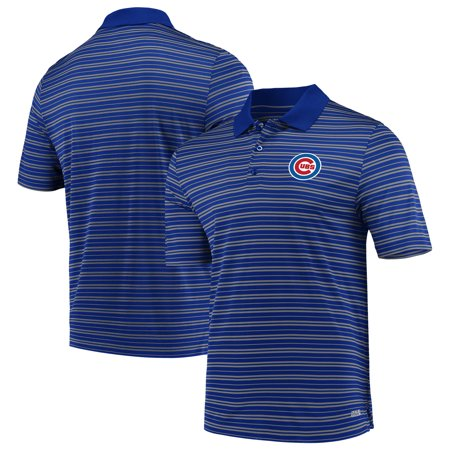 Men's Majestic Royal Chicago Cubs Fan Engagement TX3 Cool Fabric (Polo Store Chicago)