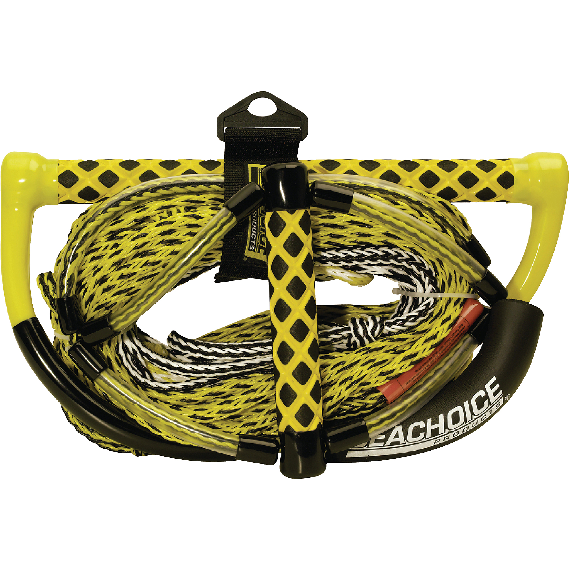 Seachoice 5-Section Wakeboard Rope with Trick Handle, 75' by Seachoice Products