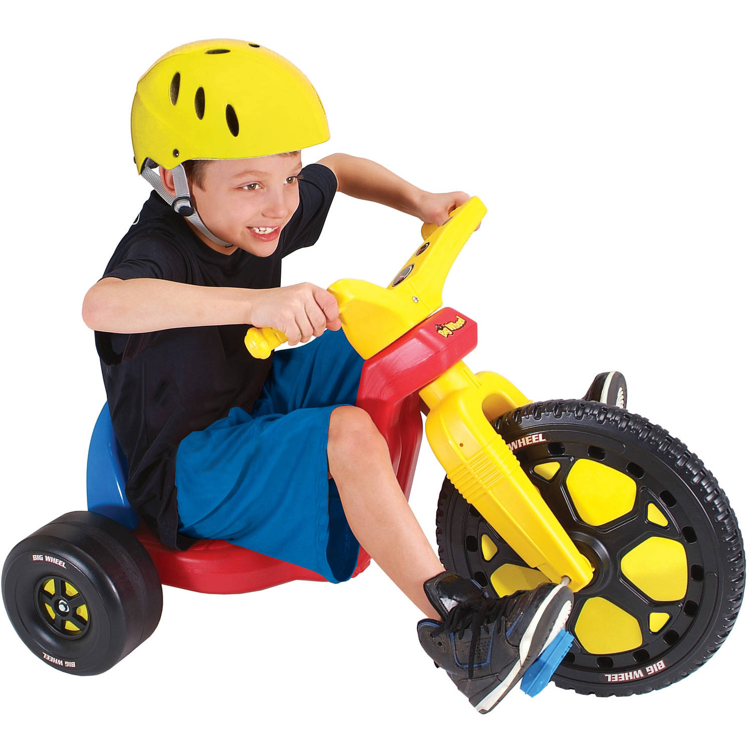 "Original 16"" Big Wheel Ride Red Walmart"