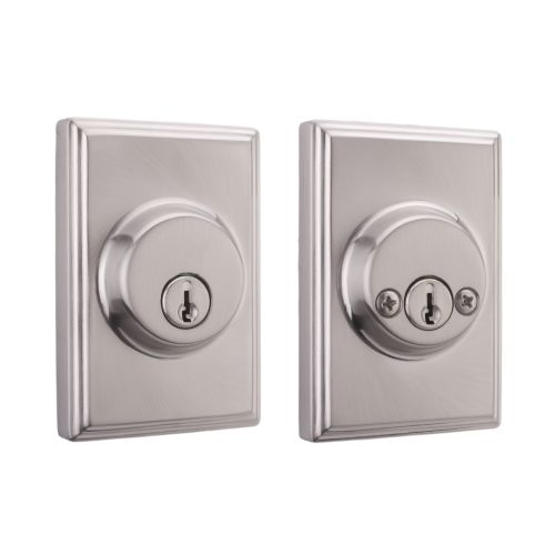 Weslock 3772 Woodward Series Grade 2 Double Cylinder Deadbolt from the Elegance Collection
