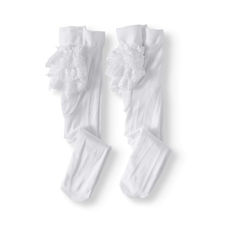 Lace Ruffle Rhumba Tights, 2-pack (Baby - Hot Girls In Tights