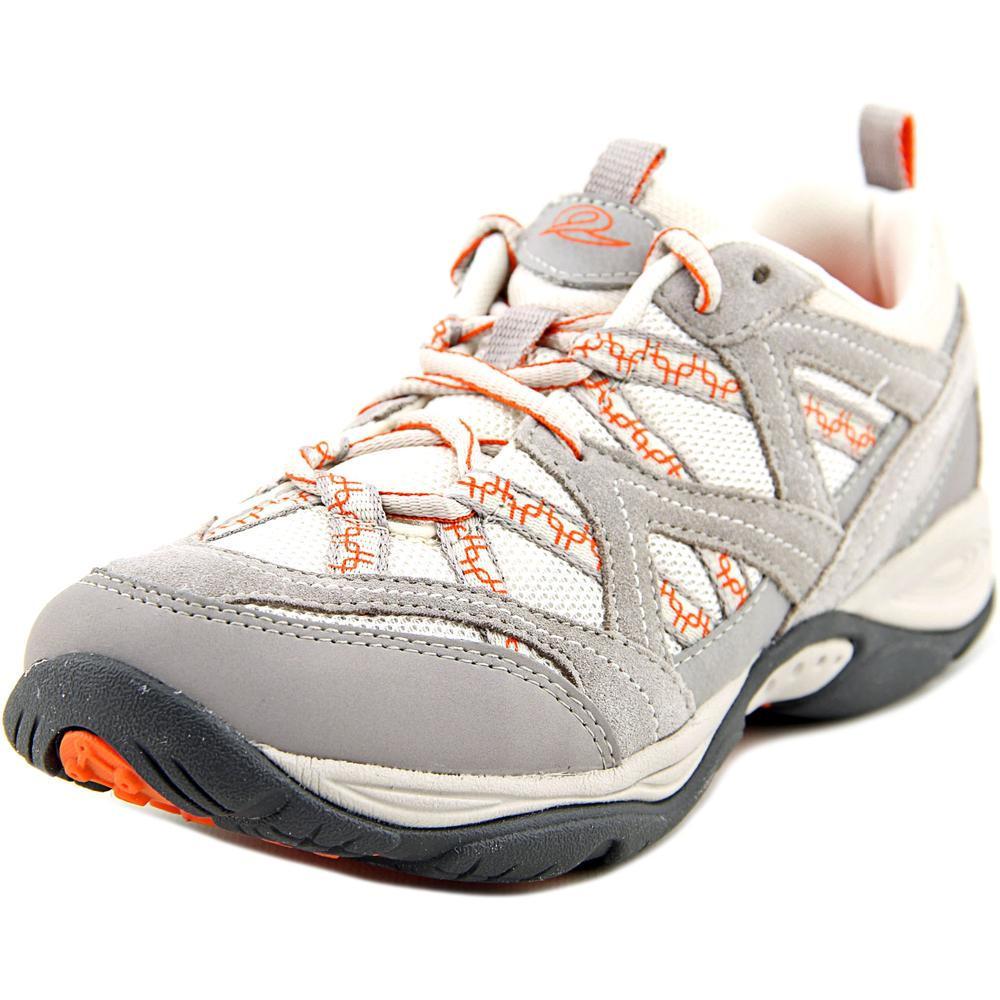 Easy Spirit Explore Map Women W Round Toe Synthetic Gray Walking Shoe by Easy Spirit