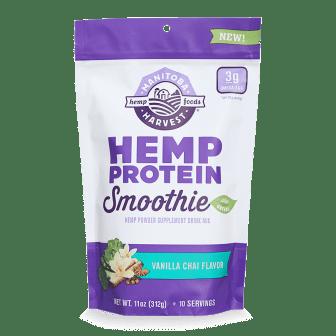 Hemp Protein Smoothie - Vanilla Chai 11oz