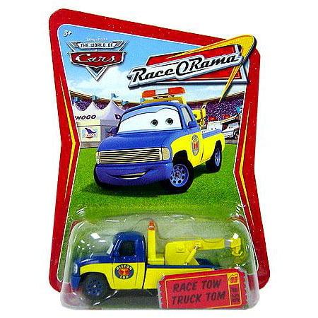 Custom Diecast Race Cars (Disney Cars Race-O-Rama Race Tow Truck Tom Diecast Car )