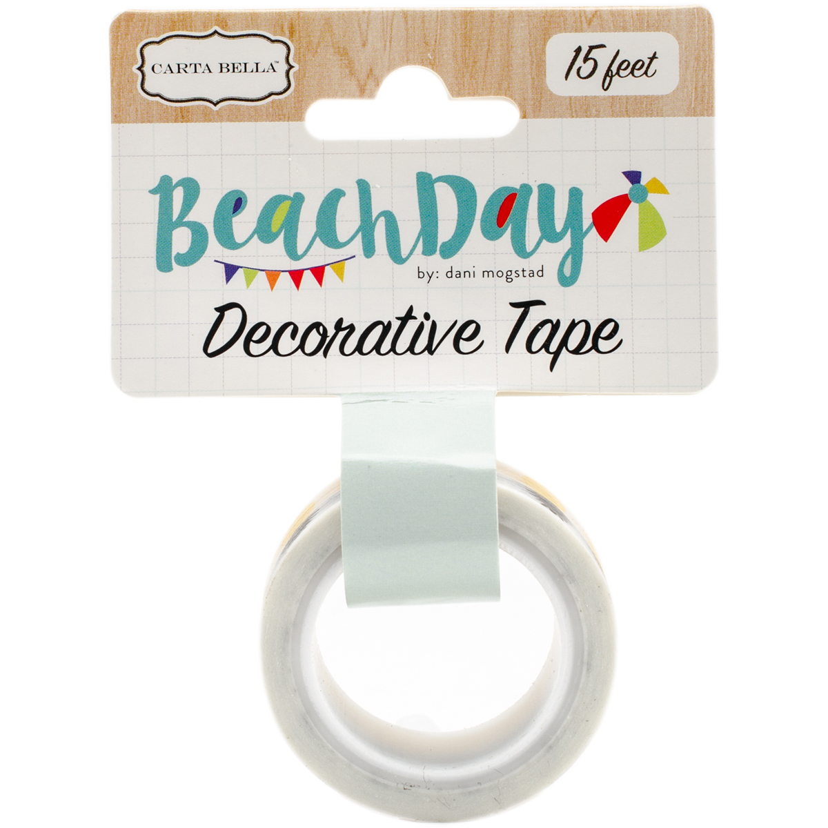 Beach Day Decorative Tape-Pineapple