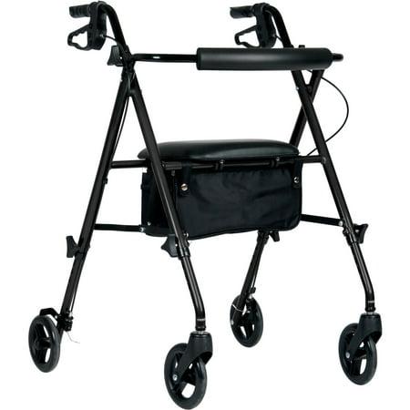 Medline Light (Medline Ultra Lightweight Rollator, Black)