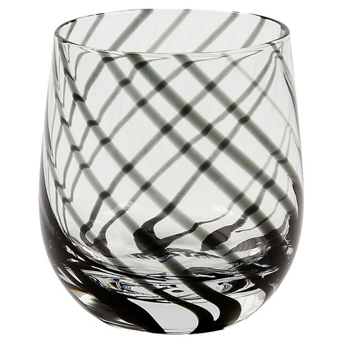 IMPULSE! Marbella Rocks 14 oz. Crystal Every Day Glass (Set of 4)
