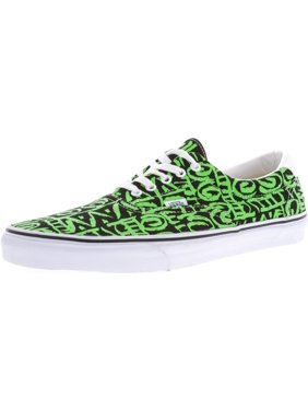 be6e6640df Product Image Vans Men s Era 59 Van Doren Tribal Black   Green Ankle-High  Canvas Skateboarding Shoe