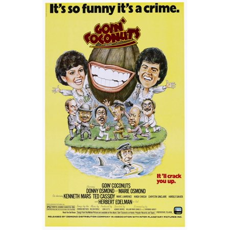 Goin Coconuts Us Poster Art Top From Left Marie Osmond Donny Osmond 1978  Osmond EntertainmentCourtesy Everett Collection Movie Poster Masterprint Donny Marie Osmond Family