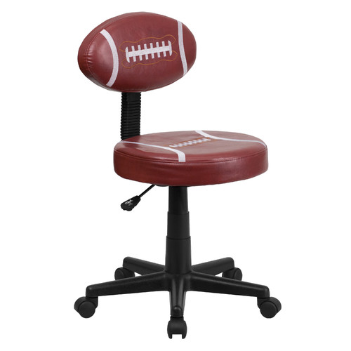 Zoomie Kids Darcy Football Mid-Back Kids Desk Chair