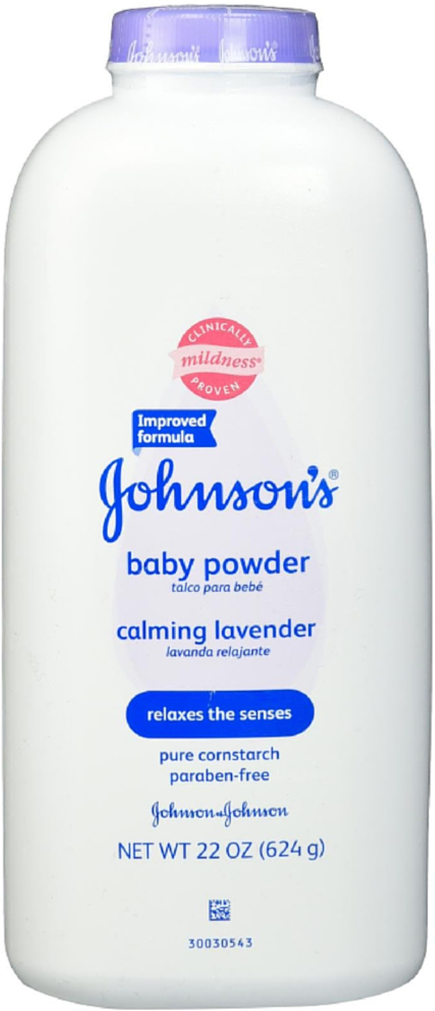 JOHNSON'S Baby Powder Calming Lavender 22 oz (Pack of 6) by