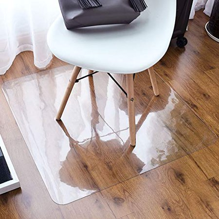 Home Cal Carpet Chair Mat Clear Non Slip Desk Floor Mat